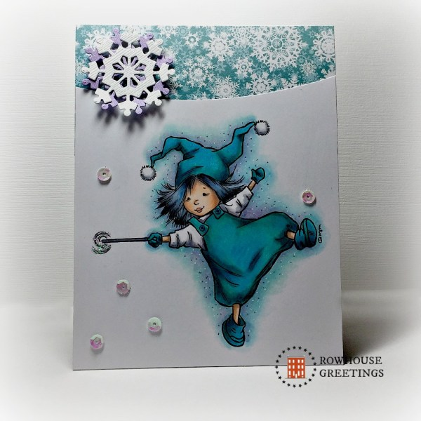 Rowhouse Greetings | Christmas | Frost by Mo's Digital Pencil