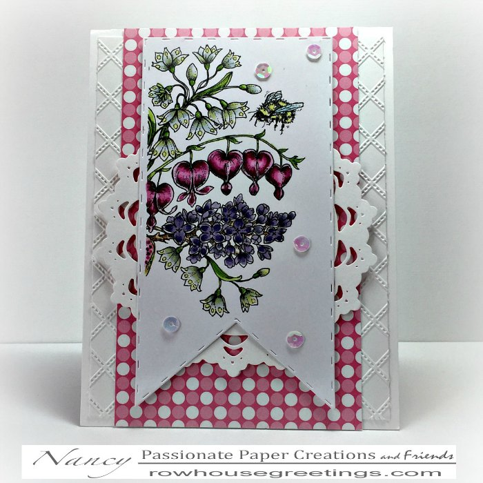 Rowhouse Greetings   Spring Meadow Bouquet by Power Poppy