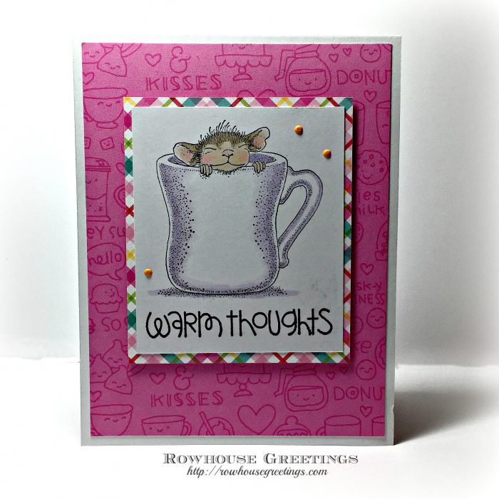 Rowhouse Greetings | Warm Cup by House Mouse Designs