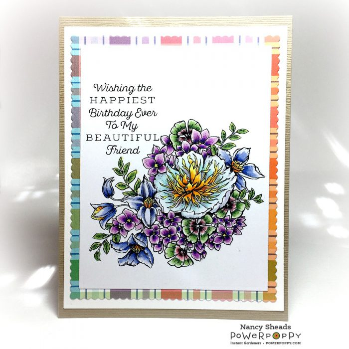 Rowhouse Greetings | Luminous Bouquet by Power Poppy