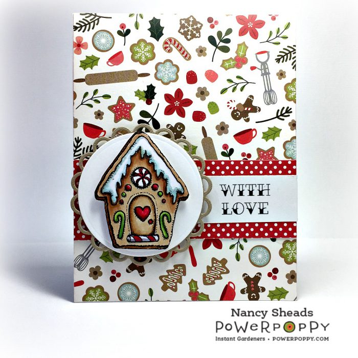 Rowhouse Greetings | Gingerbread Family by Power Poppy