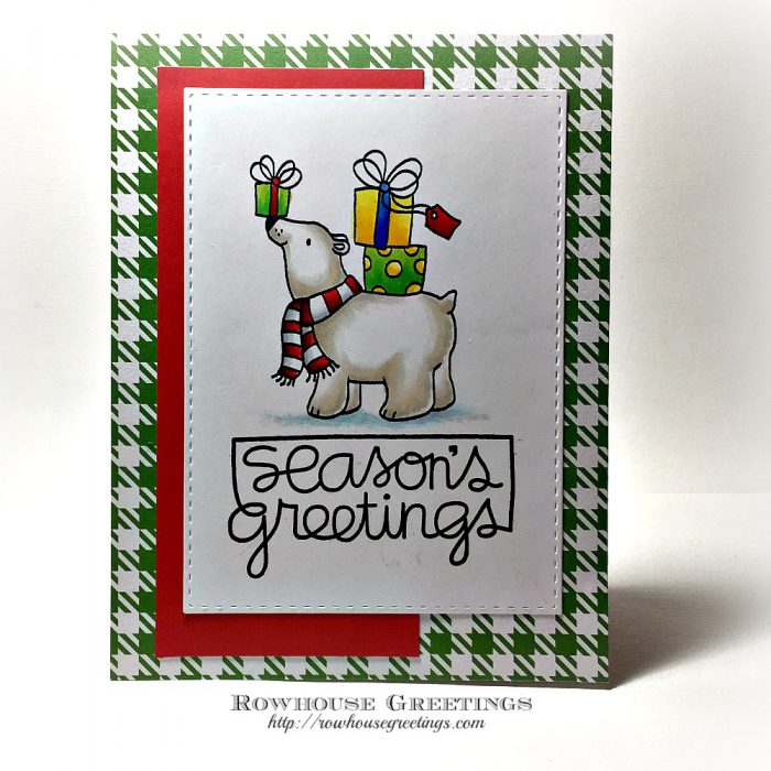 Rowhouse Greetings | Polar Antics by Penny Black
