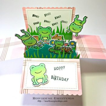 Rowhouse Greetings | Toadally Awesome by Lawn Fawn