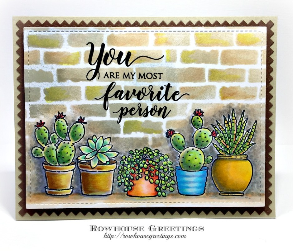 Rowhouse Greetings | Happy Together by Penny Black