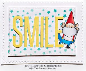 Rowhouse Greetings   You Gnome Me by My Favorite Things (MFT Stamps)