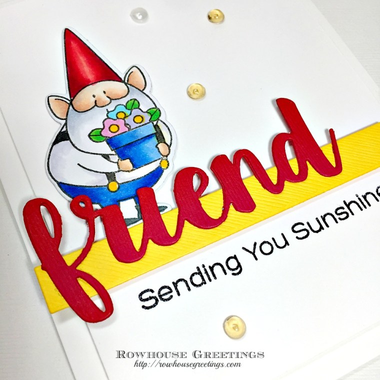 Rowhouse Greetings   Gnome Me by My Favorite Things (MFT Stamps)