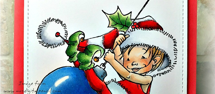 Rowhouse Greetings | Little Elf Finn by Mo's DIgital Pencil