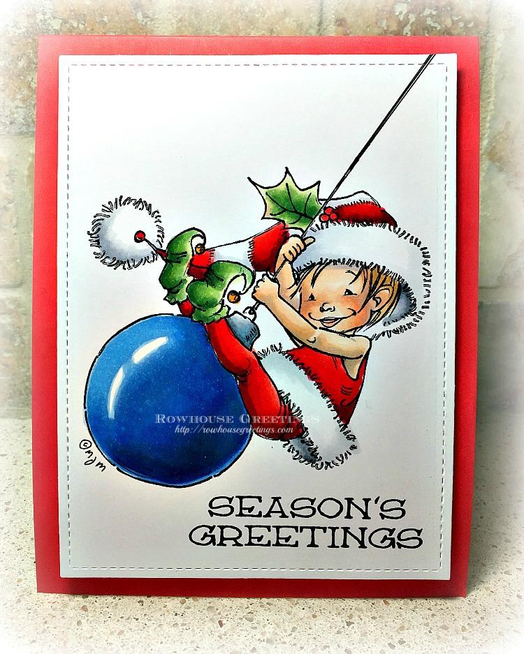 Rowhouse Greetings   Little Elf Finn by Mo's DIgital Pencil