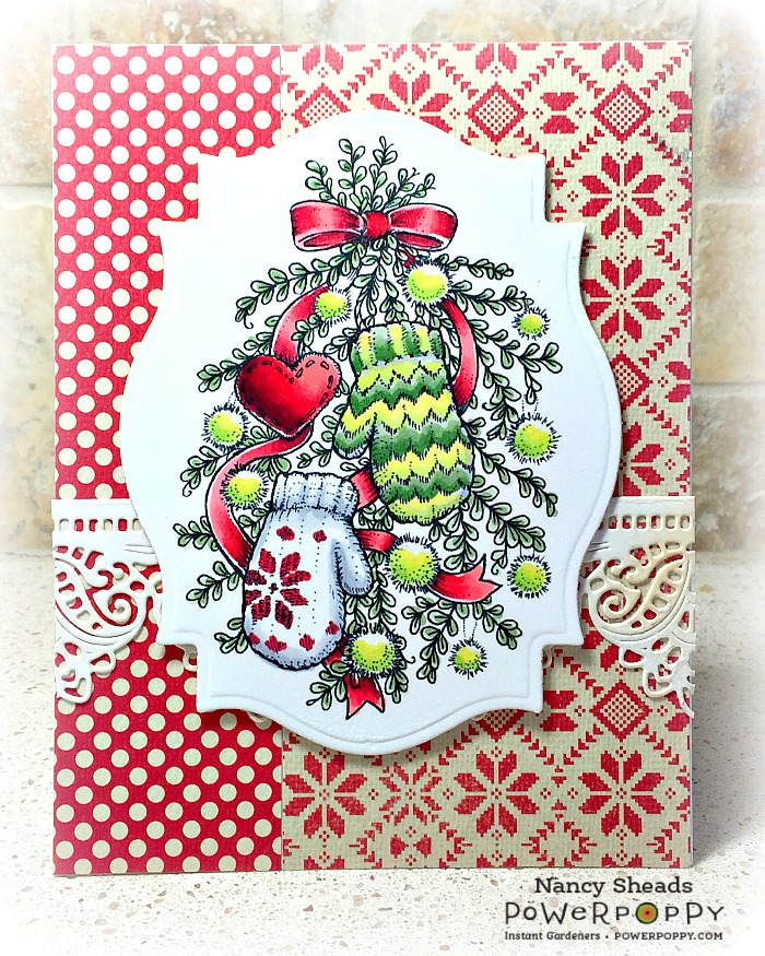 Rowhouse Greetings   Mittens & Merriment by Power Poppy