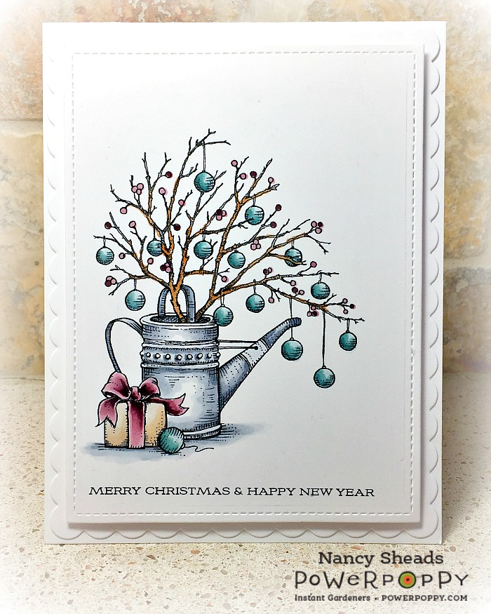 Rowhouse Greetings | Country Home Christmas by Power Poppy