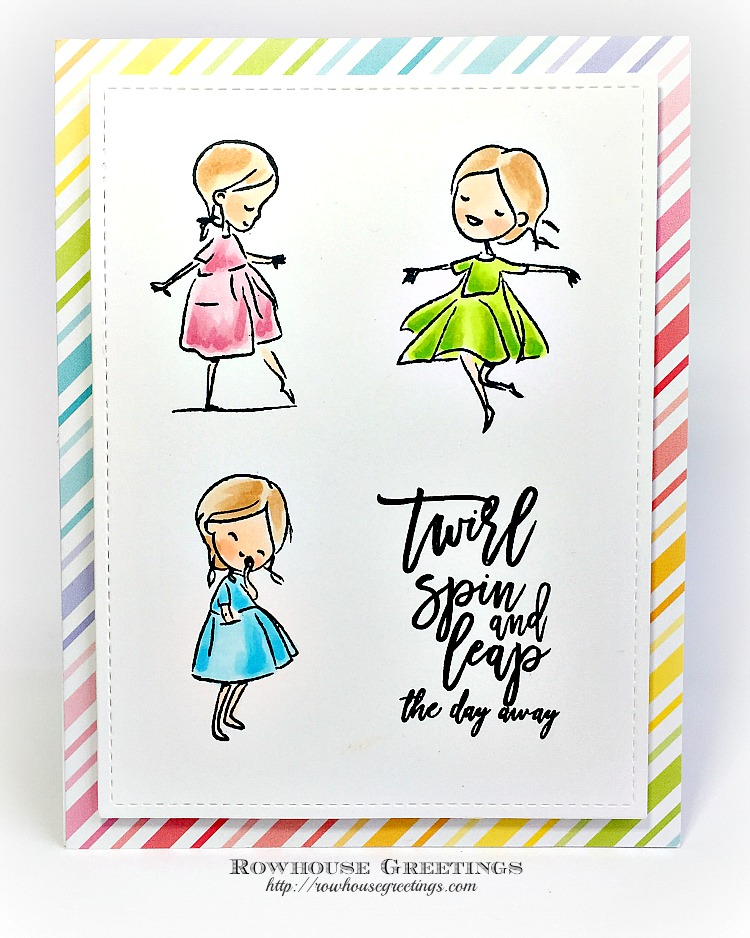 Rowhouse Greetings   Sweet Friend by Picket Fence Studios