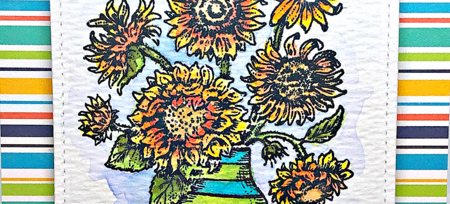 Rowhouse Greetings | In Praise of Sunflowers by Power Poppy