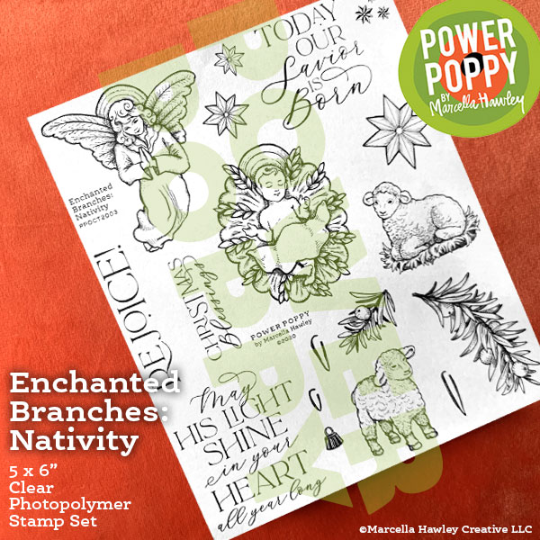 Enchanted Branches: Nativity by Power Poppy