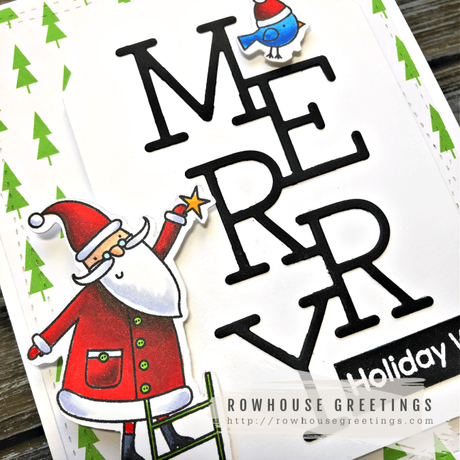 Rowhouse Greetings | Joyous Holiday by My Favorite Things