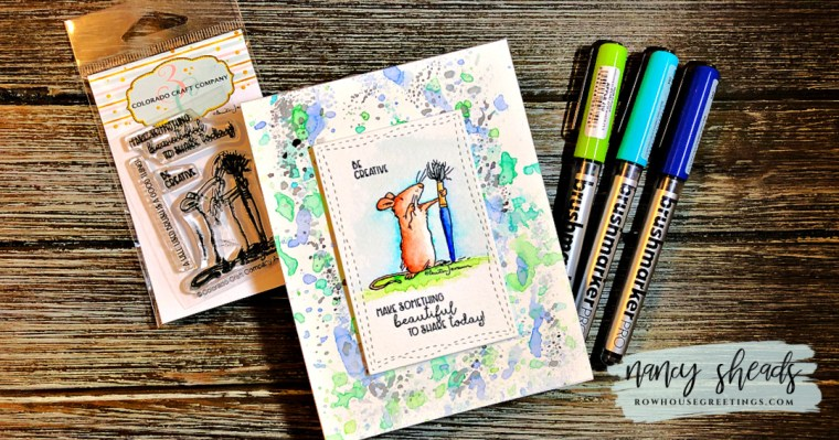 Rowhouse Greetings | Anita Jeram Be Creative Mini by Colorado Craft Company