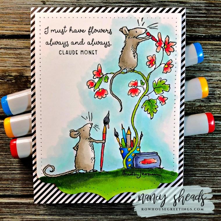 Rowhouse Greetings | Anita Jeram Love Art by Colorado Craft Company
