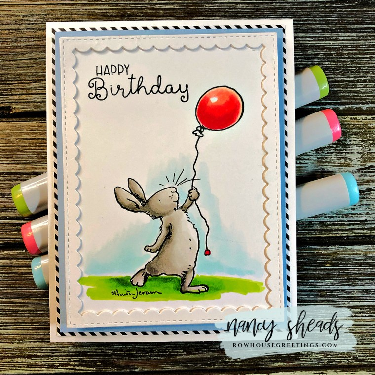 Rowhouse Greetings | Anita Jeram Birthday Wishing by Colorado Craft Company