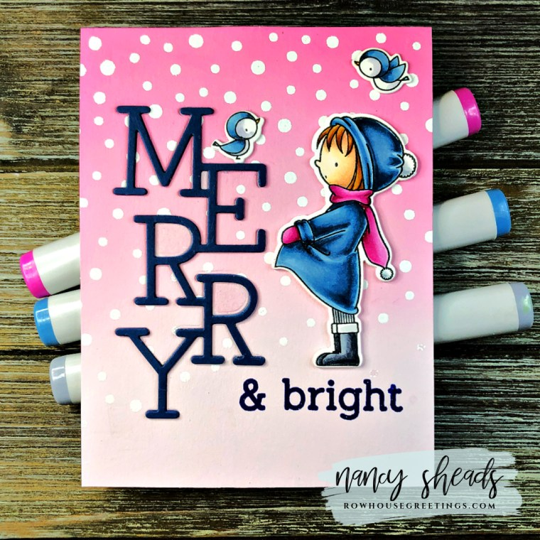 Rowhouse Greetings | Warmest Wishes by My Favorite Things (MFT Stamps)