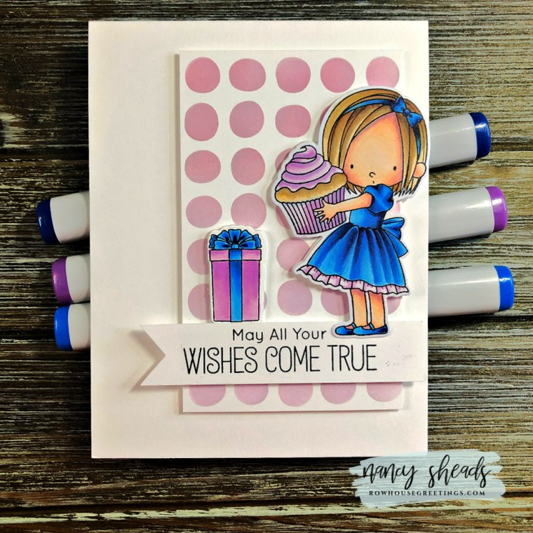 Rowhouse Greetings | Sweet Birthday Wishes by My Favorite Things (MFT Stamps)