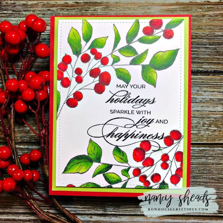 Rowhouse Greetings | Seasonal Sprig by Taylored Expressions
