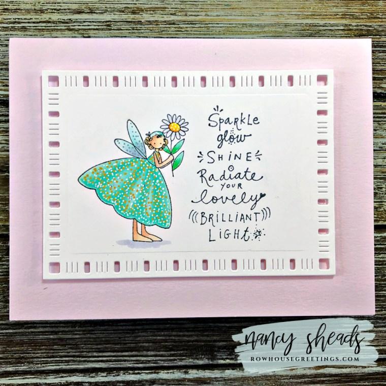 Rowhouse Greetings | Jone Hallmark Fairy Garden Stamp Set by Rubber Moon