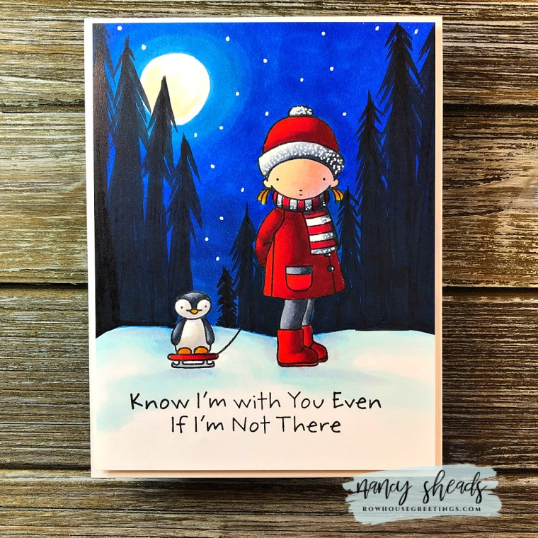 Rowhouse Greetings | You Sleigh Me by My Favorite Things (MFT Stamps)