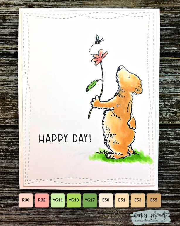 Rowhouse Greetings | Happy Day by Colorado Craft Company