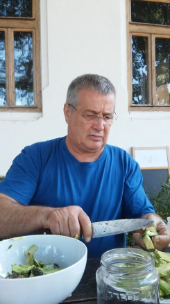 Mircea Dinescu, Romanian poet, journalist and editor. Founder of Port Cultural Cetate.
