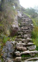 The steps leading up to Sayacmarka