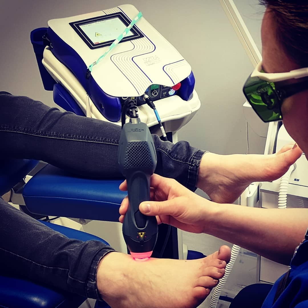 Laser Therapy at Podiatrist Cambridge