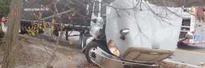 Rowley Police Respond to Motor Vehicle Crash Involving Tractor Trailer