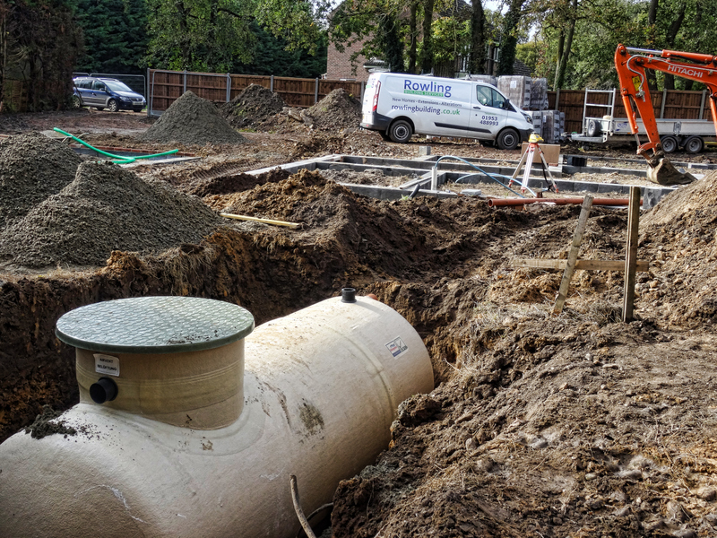 Groundworks 1. During installation of treatment works