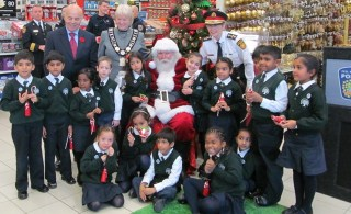 Toys for Tots Launch 2012