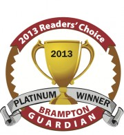 Readers' Choice 2013 Platinum  Award