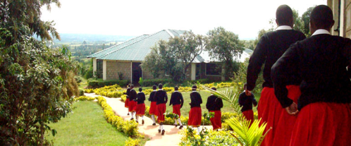 A school in a developing country