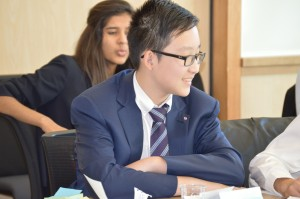 A RMS session in the midst of a MUN session debate