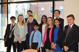 RMS' delegation to the 2015 Appleby College MUN conference