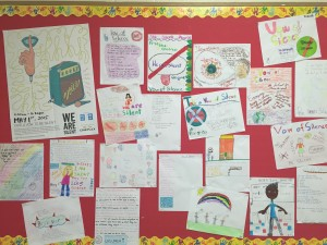 Vow of Silence Bulletin Board