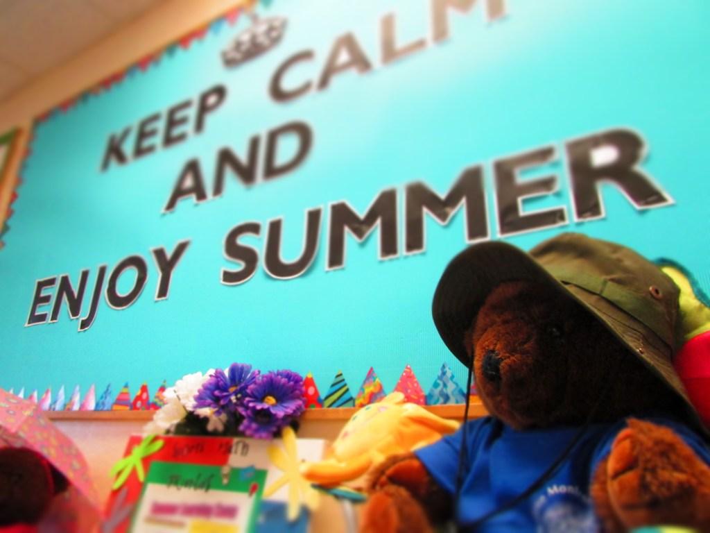 Keep Calm and Enjoy Summer