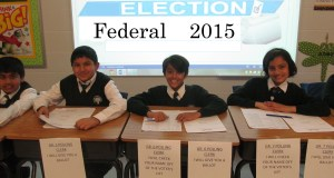 The student vote 2015