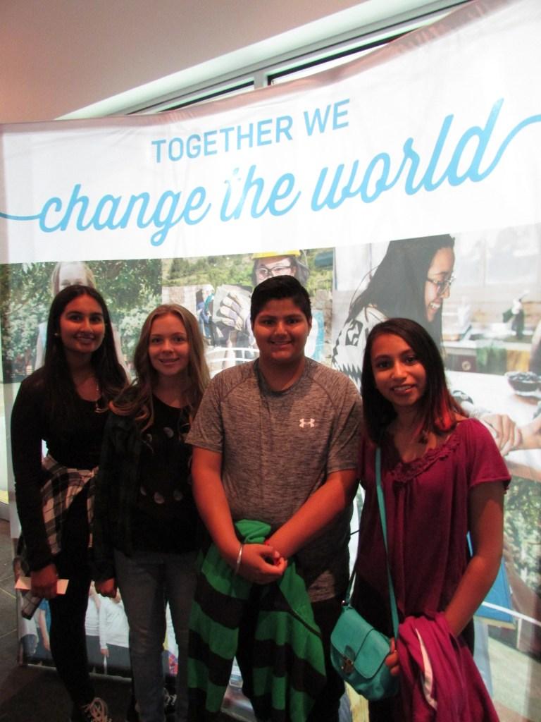 Together WE Change The World