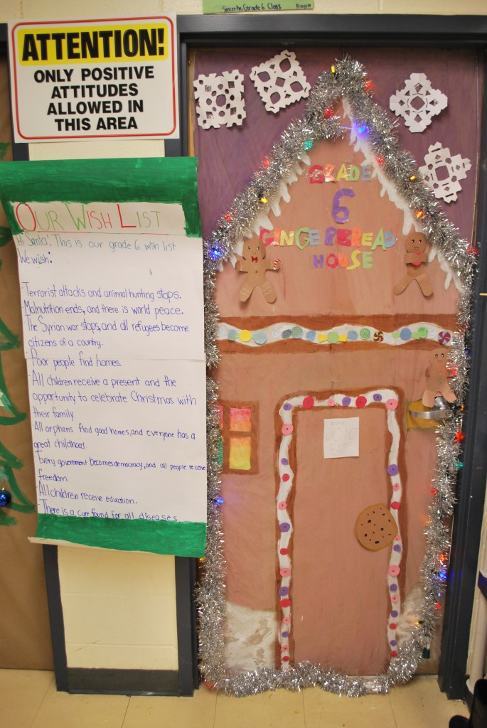 Grade 6 Door Decoration