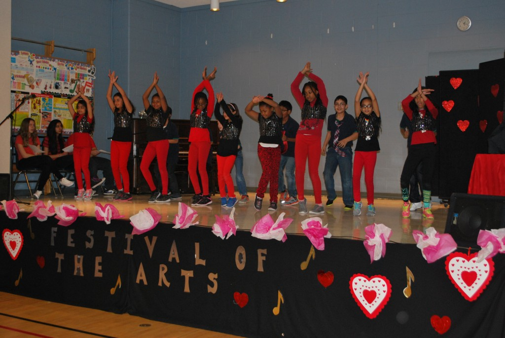 Talent show and valentines day