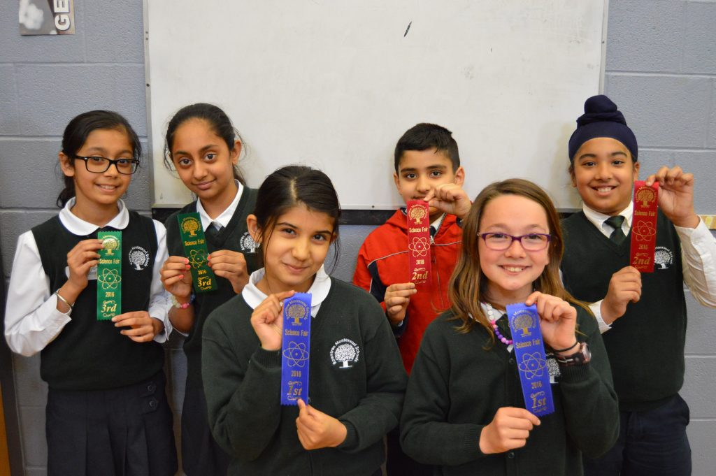 The Grade Five Award Winners