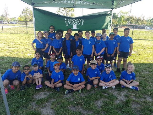Group Track and Field photo from RMS BRampton Private Schools
