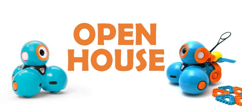 Open House featuring coding and robotics on April 15th from 6pm-8pm at Rowntree Montessori Schools.