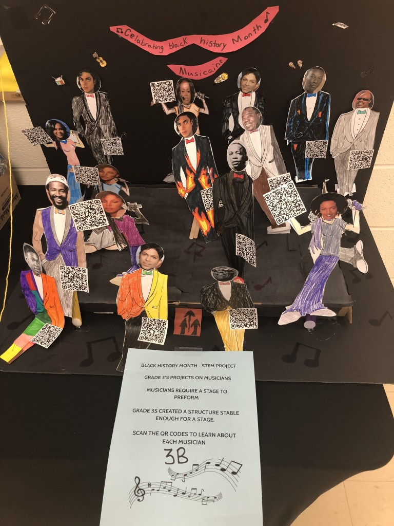 Black History Art by RMS Students