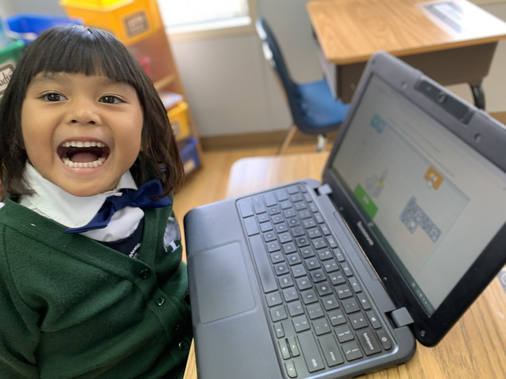 JK student learning to ode