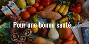 Pour une bonne sante - fruits and vegetables
