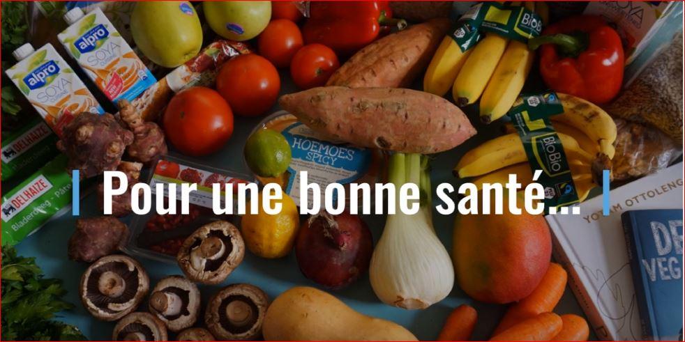 Pour une bonne sante - fruits and vegetables